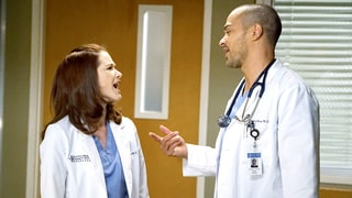 April and Jackson Get Into a Heated Argument Over Her Pregnancy Secret on 'Grey's Anatomy'