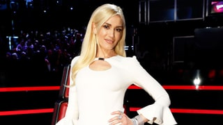 Gwen Stefani Rocks an Embellished White Dress for The Voice Finale Afterparty With Blake Shelton