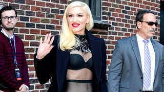 Gwen Stefani Shows Off Her Super Fab, Fishnet-Covered Abs in NYC: Photo