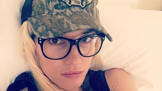 Gwen Stefani Posts Makeup-Free Selfie in Bed — Is She Wearing Boyfriend Blake Shelton's Hat?