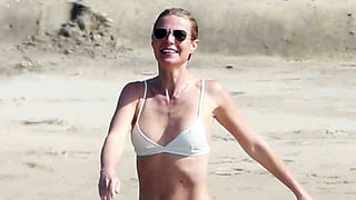 Gwyneth Paltrow Highlights Her Slim Bikini Body in a Two-Piece on Vacation With Brad Falchuk