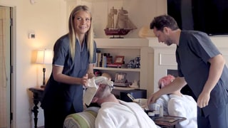Gwyneth Paltrow Goes Undercover, Gives People Facials, Spray Tans