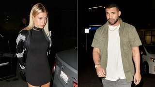 Drake and Hailey Baldwin Get Cozy, Go on Dinner Date — All the Details