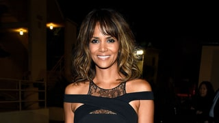 Halle Berry Buzzes a Lotus Flower Into Her Undercut