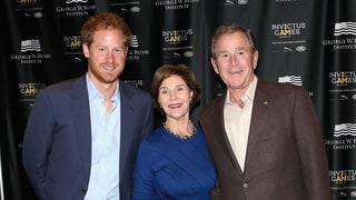 "Prince Harry Talks Depression, PTSD with George W. Bush: ""I Hope Orlando Smashes the Stigma Around Invisible Injuries"""