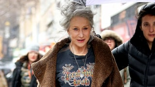 Helen Mirren in Grateful Dead Tee, Leather Leggings Proves She Can Pull Off Any Style