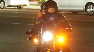 Hilary Duff Grabs Dinner, Rides Motorcycle With Hunky Personal Trainer Jason Walsh — See the Pics