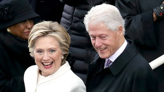 Hillary Clinton and Bill Clinton Attend Donald Trump's Inauguration: Photos