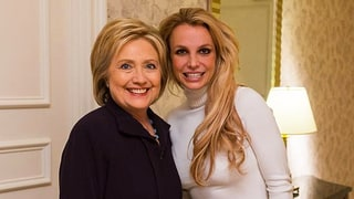Britney Spears Meets Hillary Clinton: See the Adorable Moment on Instagram