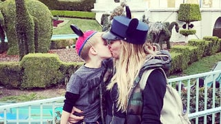 Hilary Duff: Don't Tell Me It's 'Inappropriate' to Kiss My 4-Year-Old Son Luca on the Lips