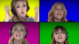 Mandy Moore, Elizabeth Banks and More Celebs Sing 'Fight Song' in Support of Hillary Clinton