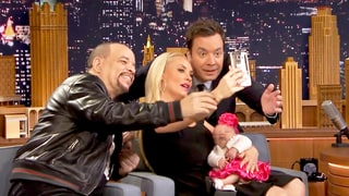 Coco Austin, Ice T's Baby Chanel Takes Photo With 'Rich Uncle' Jimmy Fallon