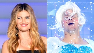 Here's How Idina Menzel Reacted to Channing Tatum's 'Let It Go' Lip-synch Battle