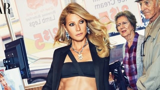 Gwyneth Paltrow Grocery Shops in a Bikini for 'Harper's Bazaar'
