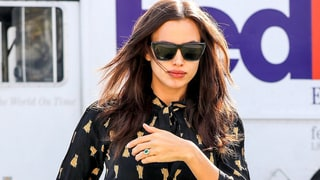Is Pregnant Irina Shayk Engaged to Bradley Cooper? Model Rocks Huge Emerald Ring