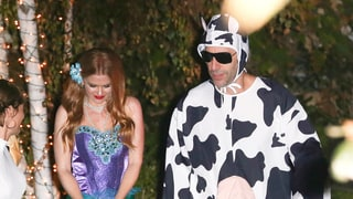 Isla Fisher and Sascha Baron Cohen, Mermaid and Cow