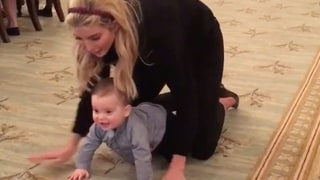 Ivanka Trump Shares Adorable Video of Baby Theodore Crawling for the First Time in the White House