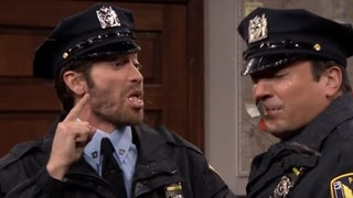 Jake Gyllenhaal Spits All Over Jimmy Fallon in Disgusting Police Show Skit
