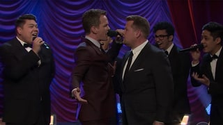 Neil Patrick Harris and James Corden Battle It Out in a Hilarious Broadway Musical Riff-Off