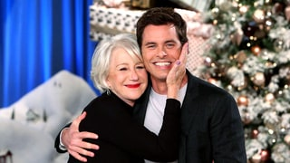 James Marsden Kisses His Crush Helen Mirren on the Lips, Admits He Once Stalked Her: Watch!