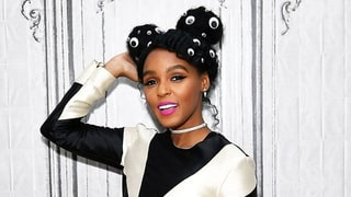 Janelle Monae's Hairstyle Studded With Googly Eyes Is a Must-See