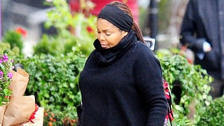 Pregnant Janet Jackson Bundles Up to Go Flower Shopping — See Her Bump!