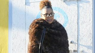 Janet Jackson Steps Out Three Weeks After Welcoming Baby Son Eissa — See the Pics!