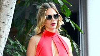 January Jones Rocks a Jumpsuit With the Most Daring of Keyhole Cutouts