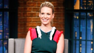 January Jones Explains the Sweet Meaning Behind Her Forearm Tattoo