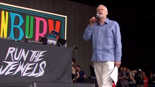 See Jeremy Corbyn Introduce Run the Jewels at Glastonbury