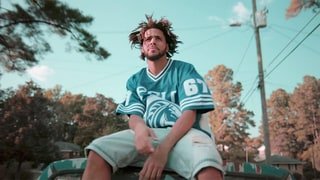 Watch J. Cole Write Lyrics, Talk Music Theory in Album Doc 'Eyez'