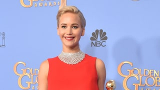 Jennifer Lawrence Roasts Reporter for Being on Phone Backstage at Golden Globes 2016