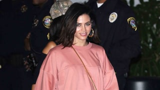 Jenna Dewan Tatum Serves Her Best Kim K. in Oversize Sweatshirt and Lace Boots