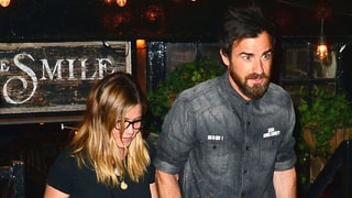 Jennifer Aniston Goes on Date Night With Hot, Scruffy Justin Theroux