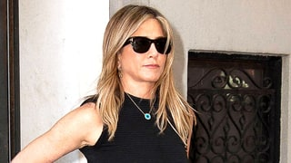Jennifer Aniston Wears an Evil Eye Necklace Post Brangelina Split