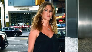 Jennifer Aniston Unexpectedly Adds a Pop of Color to Her All-Black Ensemble