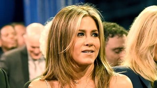 Jennifer Aniston Tells Critics' Choice Attendee to
