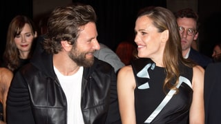 Jennifer Garner and Bradley Cooper at Versace