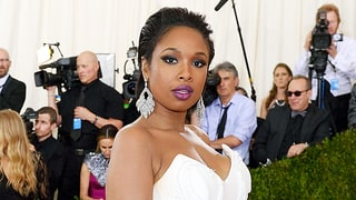 Jennifer Hudson's Son Tried to Take a Nap on the Train of Her Met Gala Dress: Photos