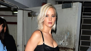 Jennifer Lawrence Sizzles in Low-Cut Bustier Dress
