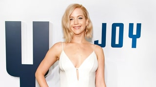 Jennifer Lawrence Looks So Romantic in a Slip Dress on the Red Carpet