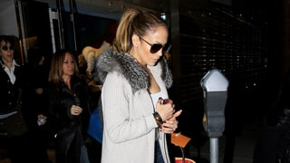 Jennifer Lopez Does Last-Minute Christmas Shopping in Style