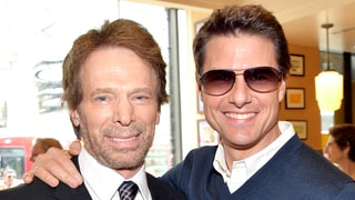 Jerry Bruckheimer Poses With Tom Cruise, Teases He and 'Old Friend' Talked 'Top Gun 2'