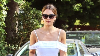 You'll Want to Live in Jessica Alba's Bardot Dress All Summer