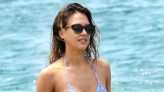 Jessica Alba's Adult Spring Break Style Includes Itty-Bitty Bikinis and a Pajama Suit