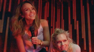 Jessica Alba Wears Ice Bucket Like Hat, Screams About Denny's in 'Barely Famous' Season 2 Premiere Sneak Peek