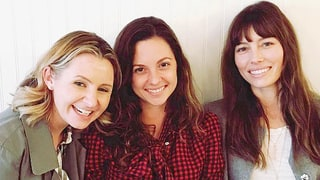 Jessica Biel Reunites With Her '7th Heaven' Sisters Beverley Mitchell and Mackenzie Rosman