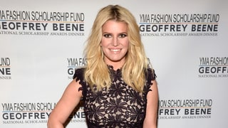 Jessica Simpson Goes From Demure Lace to a Sheer Minidress, All in One Night