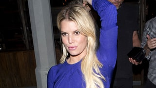 Jessica Simpson's Crop Top Reminds the World That Her Abs Are Rock-Hard: See Her Date Night Style