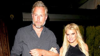 Jessica Simpson Works Her Famous Curves in a Tight Dress
